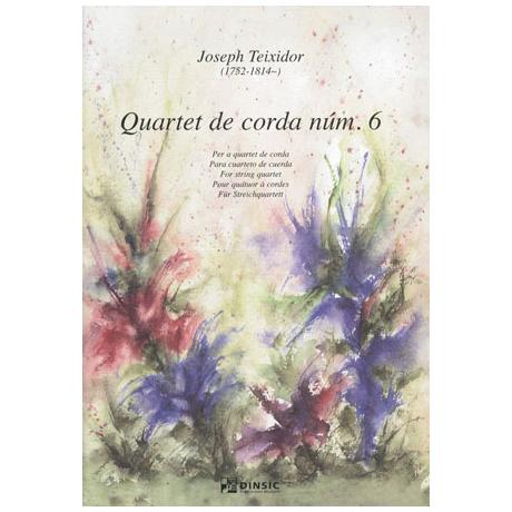 Teixidor, J.: Streichquartett Nr. 6