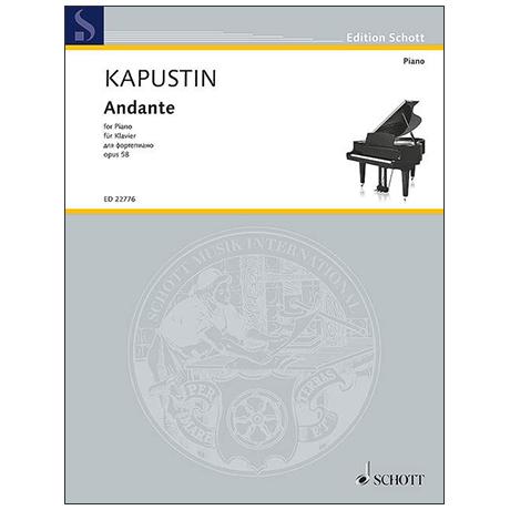 Kapustin, N.: Andante Op. 58 (1990)
