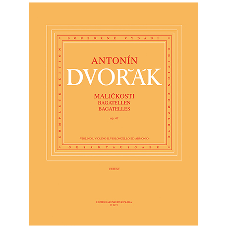 Dvořák, A.: Malickosti (Bagatellen) Op. 47