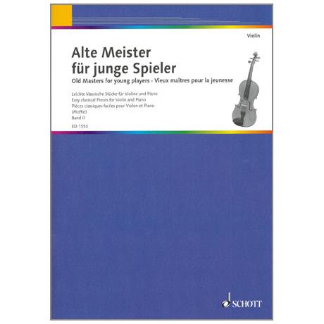 Alte Meister für junge Spieler Band 2