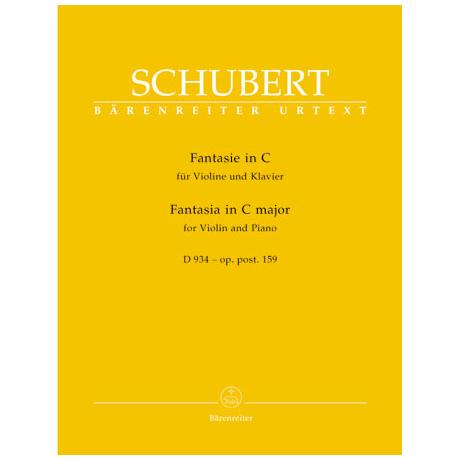 Schubert, F.: Fantasie D 934 Op. posth. 159 C-Dur
