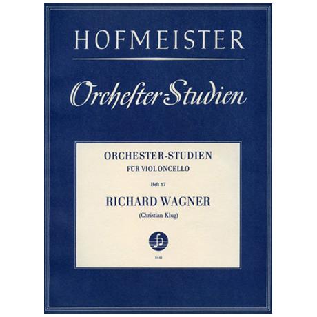 Klug, Chr.: Orchesterstudien Heft 17: Wagner