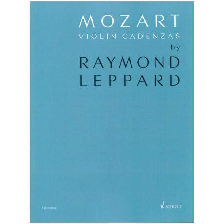Mozart, W. A./Leppard, R.: Mozart Violin Cadenzas