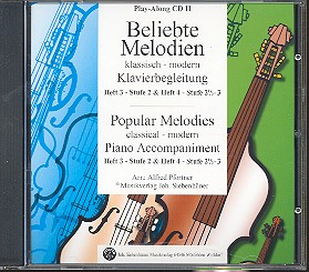 Beliebte Melodien - klassisch modern - Band 3-4 (CD)