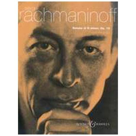 Rachmaninow, S.: Sonate Nr.2 g-Moll Op.19