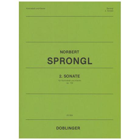 Sprongl, N.: 2. Kontrabasssonate