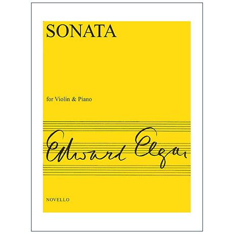 Elgar, E.: Violinsonate Op. 82 e-Moll
