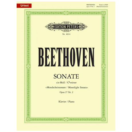 Beethoven, L. v.: Sonate cis-Moll Op. 27,2 (Mondscheinsonate)