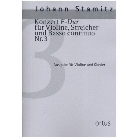 Stamitz, J.: Violinkonzert Nr. 3 F-Dur