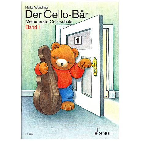 Wundling, H.: Der Cello-Bär Band – Schülerheft 1