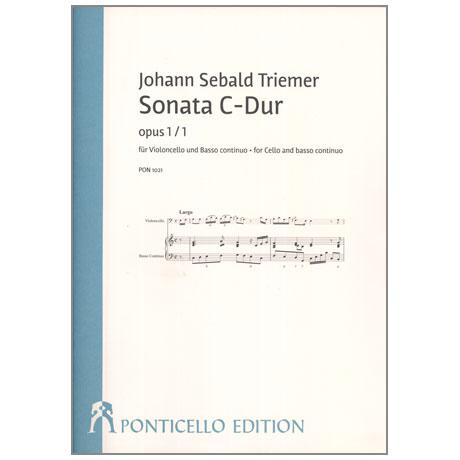 Triemer, J. S.: Sonata Op. 1/1 C-Dur