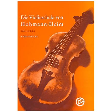 Hohmann, H./Heim, E.: Violinschule Band 4