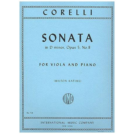 Corelli, A.: Sonate in d-moll op. 5 Nr. 8