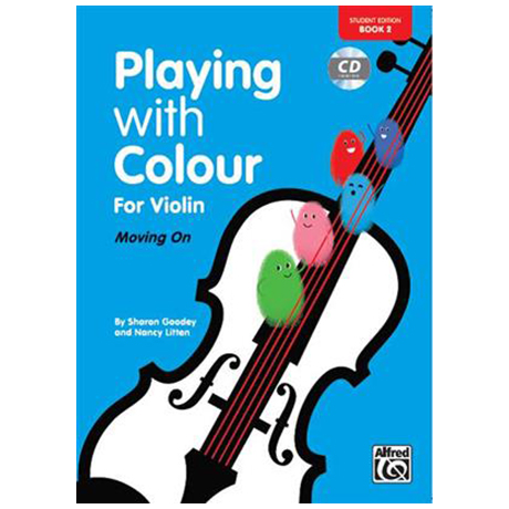 Litten, N./Goodey, S.: Playing With Colour For Violin Vol. 2 (+CD)