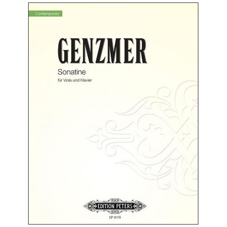 Genzmer, H.: Sonatine