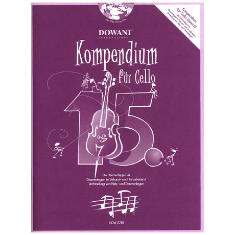 Kompendium für Cello - Band 15 (+ 2 CD's)