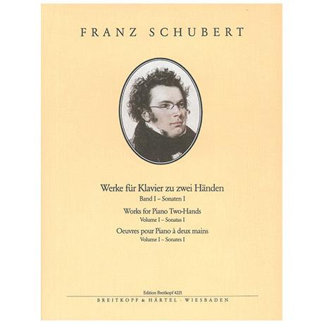 Schubert, F.: Sämtliche Klavierwerke Band V: Tänze I