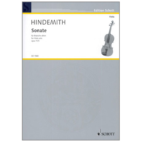 Hindemith, P.: Sonate Op.11 Nr.5