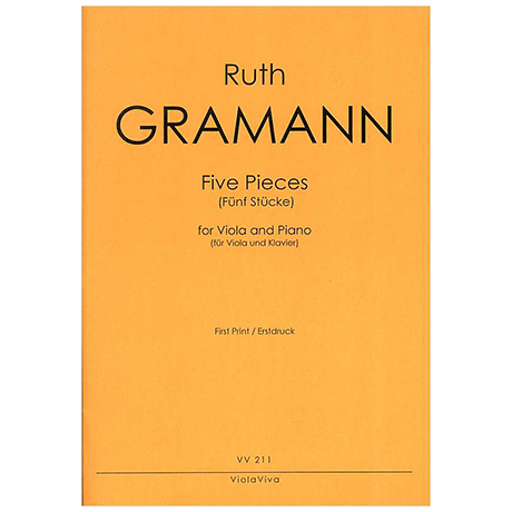 Gramann, R.: Five Pieces (Fünf Stücke)