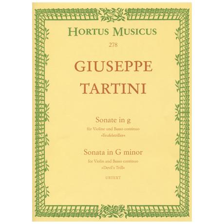 Tartini, G.: Violinsonate g-Moll »Teufelstriller« (Kreisler)