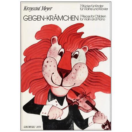 Meyer, K.: Geigen-Krämchen – 7 Stücke für Kinder