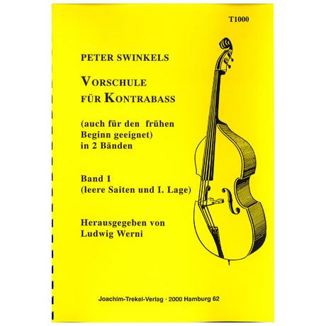 Swinkels, P.: Vorschule für Kontrabass Band 1