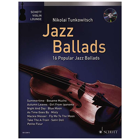Tunkowitsch, N.: Jazz Ballads (+CD)