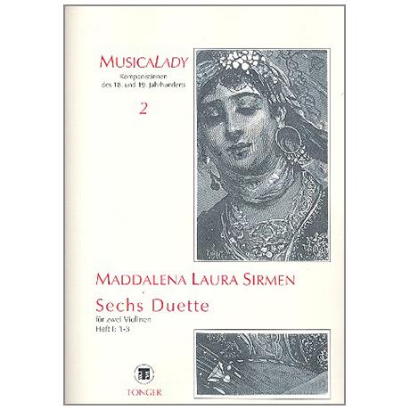 Sirmen, M. L. L.: 6 Duette Band 1 (1-3)
