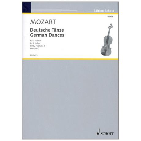 Mozart, W.A.: Deutsche Tänze Band 2