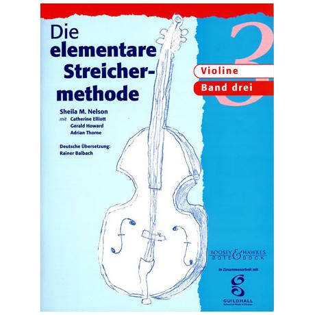 Die elementare Streichermethode - Band 3