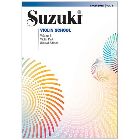Suzuki Violin School Vol.5 – Revised Edition