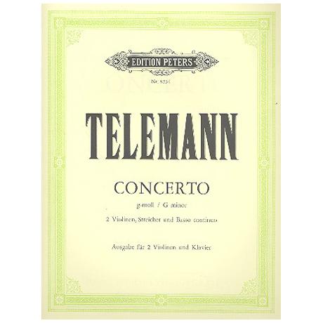 Telemann, G. Ph.: Violinkonzert g-Moll