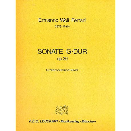 Wolf-Ferrari, E.: Sonate Op. 30  G-Dur