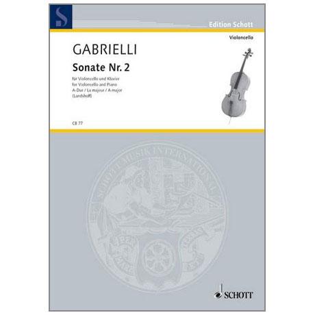 Gabrielli, D.: Sonate Nr. 2 A-Dur