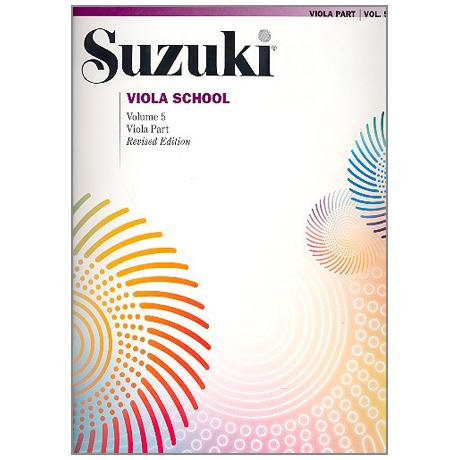 Suzuki Viola School Vol.5