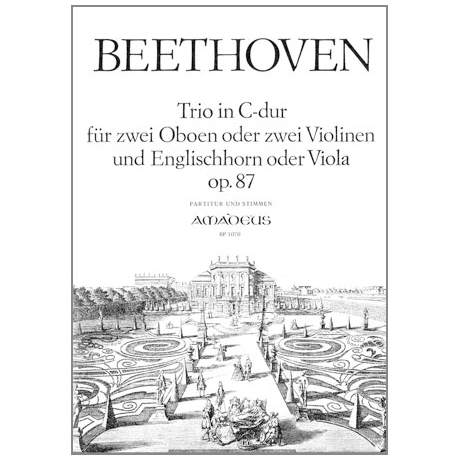Beethoven, L.v.: Trio in C-Dur Op.87