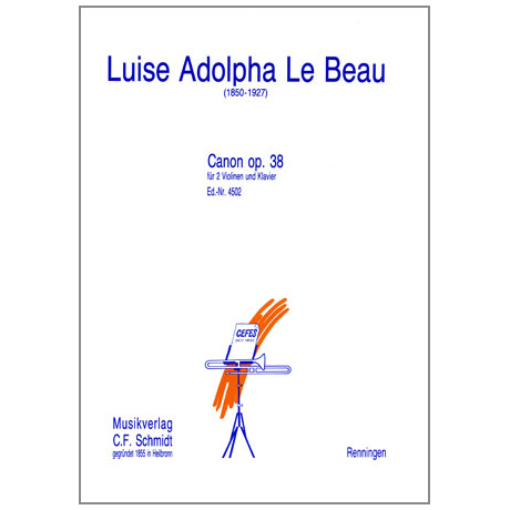 Le Beau, L. A.: Canon Op. 38