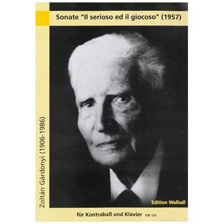 Gárdonyi, Z.: Sonate »Il serioso ed il giocoso«