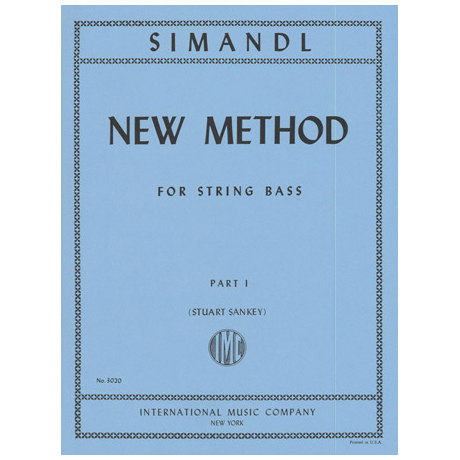 Simandl, F.: New Method Vol. 1