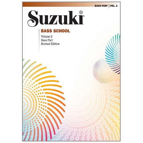 Suzuki Bass School Vol. 2 – Klavierbegleitung