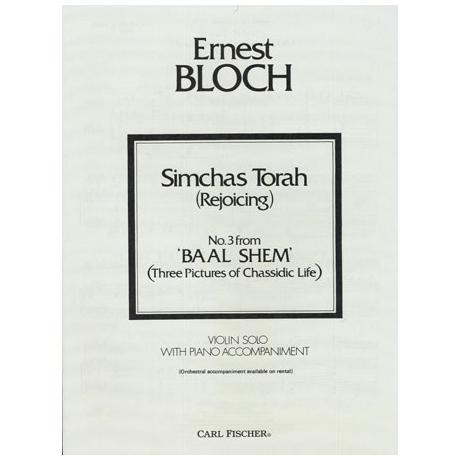 Bloch, E.: Simchas Torah