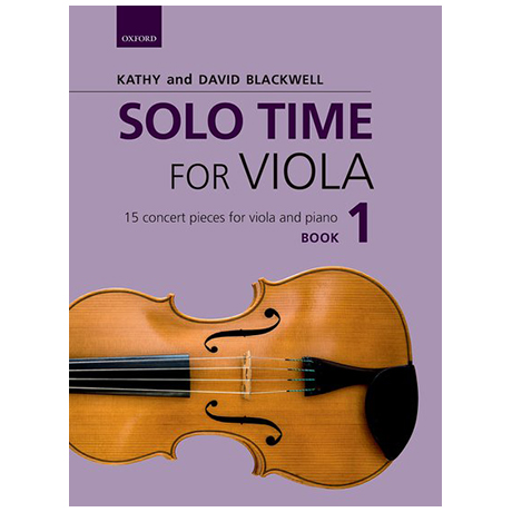 Blackwell, K. & D.: Solo Time for Viola Book 1