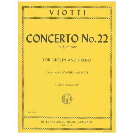 Viotti: Konzert a-moll Op.22