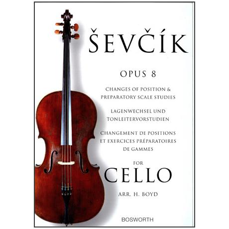 Sevcik, O.: Lagenwechsel und Tonleiter-Vorstudien Op. 8