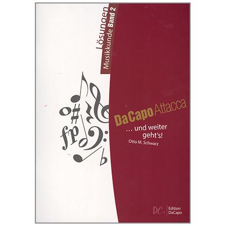 Da Capo Attacca – Lösungen Musikkunde Band 2