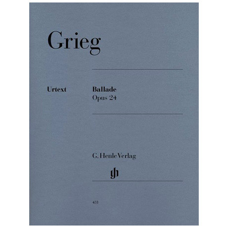 Grieg, E.: Ballade Op. 24