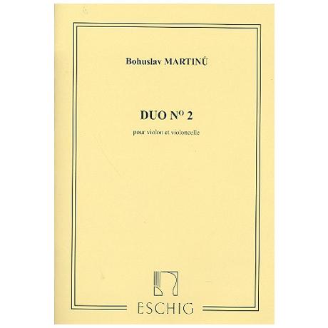 Martinu: Duo Nr.2