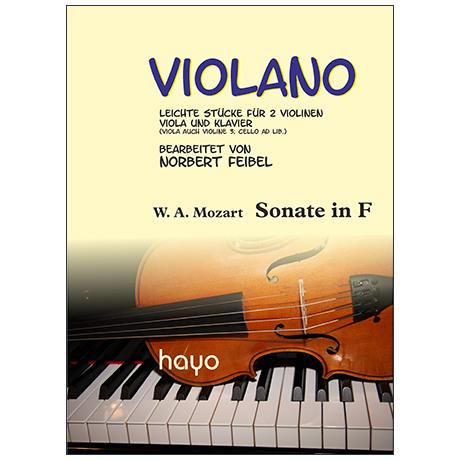 Mozart, W. A.: Sonate in F
