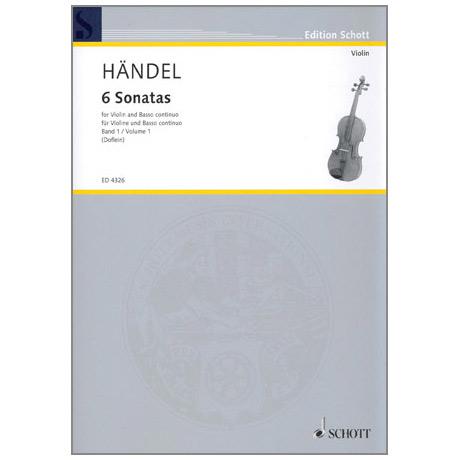 Händel, G. F.: 6 Sonaten Band 1
