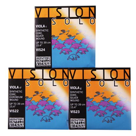 THOMASTIK Vision SOLO Violasaiten D-G-C